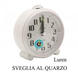 Sveglia al quarzo con suoneria - Luren