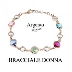 Bracciale donna - argento 925 rosè