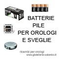 Ricambi per orologi da polso - batterie pile per orologi e sveglie